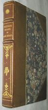 The Poetical Works of John Keats (Lovely Leather Binding), John Keats, H. Buxton