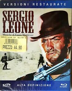 Sergio Leone Trilogia Del Dollaro Blu-Ray  Sealed Sigillato Rare!