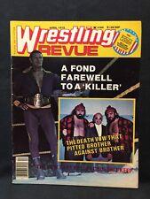 Wrestling Revue Magazine April 1978 WWE WWF WCW NWA AWA Pro Illustrated