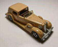 Vintage Hot Wheels '35 Classic Caddy Tan Cadillac Limousine 1/64 Diecast