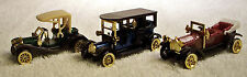 Vintage Car Set of 3 Beautiful Antique Cars Made by High Speed