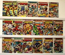 Champions  Lot of 18 Comics  VF or better except 4 books 10 books are marked 10P