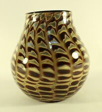 STEVEN V. CORREIA Art Glass Vase Limited Edition 2 of 50 SEA SHELLS Series Dated