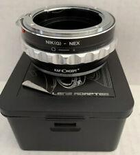 K & F Concept Lens Adapter NIK NEX