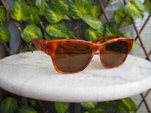 Sunglasses / Lunettes de soleil Persol RATTI vintage tortoise + case