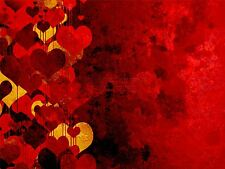 ART PRINT POSTER PAINTING DRAWING ABSTRACT LOVE HEART DESIGN PATTERN LFMP0384