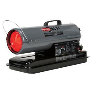 Dyna-Glo Delux Kerosene Portable Heater 80K BTU Forced Air Thermostat Steel