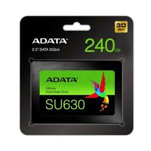 "Adata 240GB Ultimate SU630 Solid State Drive QLC 3D NAND Flash SATA 2.5"" SSD"