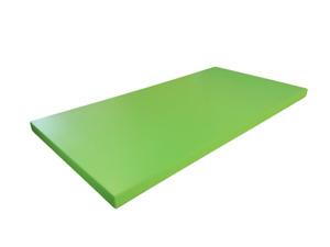 mensola da parete muro in legno colorata laccata verde varie misure TapTapShop
