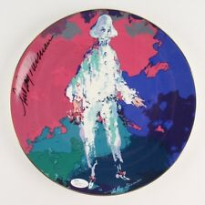 "Leroy Neiman Signed Limited Edition #733 ""Pierrot"" 10"" Ceramic Plate w/ Jsa Coa"