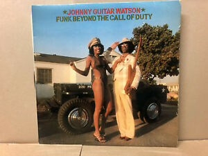 WHITE LABEL Johnny Guitar Watson – Funk Beyond The Call Of Duty - DJM Records 
