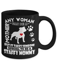 Staffordshire Bull Terrier Coffee Mug, Staffy Mug, Staffie Mug, Staffy Mom Mug