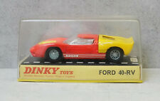 Dinky 132 Ford 40 - RV Fluorescent Pink / Yellow Near Mint in Plastic Box