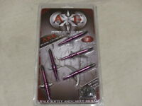 "2 Paquets Swhacker mécanique Broadheads Extensible 100 Grain 2/"" Coupe"