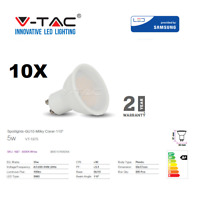 LED GU10 5W Spotlight 320Lm Cool White 10pcs/pack by V-TAC