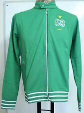 BRAZIL FULL ZIP GREEN 58 JACKET BY NIKE SIZE MEN'S SMALL BRAND NEW WITH TAGS