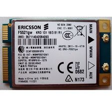 Unlocked Ericsson F5521GW WWAN GPS Mini PCI-E 3G WCDMA HSPA+21Mbps