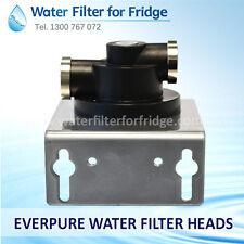 EVERPURE WATER FILTER HEADS (2CB-GW, 2CB5-S, 4CB5-S, 4H, 4FC-S )