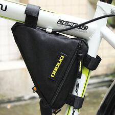 Black Ketchum Frame Bike Bag Top Tube Cycling Under Seat Triangle Portable Bag