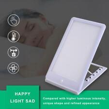 SAD Lampe 6500k de Luminothérapie Portable LED àrétroéclairé Mini Lightpad IP65