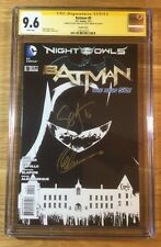 Batman 9, 1:200 B&W Sketch New 52, CGC 9.6 2X SS, signed Snyder & Capullo, NM+