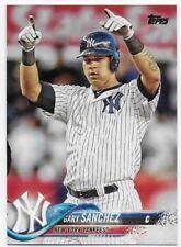 2018 Topps Series 1 #340 Gary Sanchez - Yankees