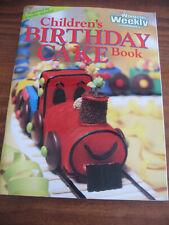 AUSTRALIAN WOMENS WOMEN'S WEEKLY CHILDREN'S BIRTHDAY CAKE BOOK  - CLASSIC