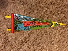 "25"" Vintage Rocky Mountain National Park Pennant"
