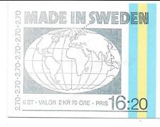 Sweden 1984 - Booklet 'Made in Sweden'.  Inventions, Patents; Nobel Prize