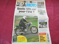 LA VIE DE LA MOTO D'OCCASION NUMERO 531 AOUT 2008 QUELLE 125 POUR L ETE ++++