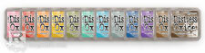 SHIPS SAME DAY TIM HOLTZ DISTRESS OXIDE INK PADS - SET OF ALL 12 NEW!