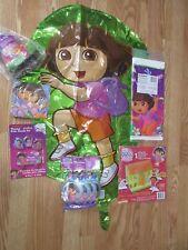 7pc Lot Designware Dora & Friends Birthday Party Multi-color Goods  NOS