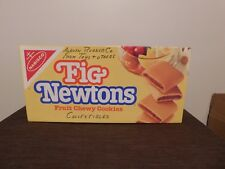 "VINTAGE KITCHEN  23"" X 11"" X 5"" NABISCO LARGE FIG NEWTONS CARDBOARD BOX *EMPTY*"