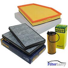 SCT MANN Filterset Filterkit Inspektionspaket BMW 5er E60 E61 520d 130 KW 177 PS