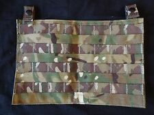 British Army Osprey MK4 / 4A Ops Panel - MTP - Used - Grade 1 - GENUINE -AIRSOFT