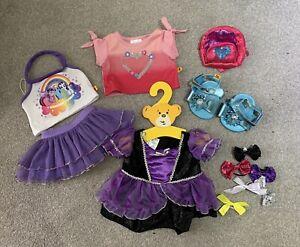 Build A Bear Clothing Bundle My Little Pony Dress Bag Bows Shoes 12 Bits Job Lot