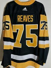 adidas Authentic Adizero NHL Jersey Pittsburgh Penguins Ryan Reaves Black sz 52
