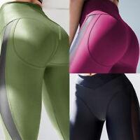 Woman Workout Yoga Legging High Waist  Lady Gym Running Slim Pants
