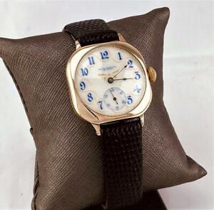 1907 ILLINOIS 11J Mechanical FANCY DIAL - Men's Wrist Watch U.S.A MADE - RUNNING