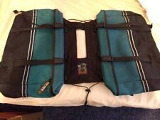 New listing Ruffwear Doggy backpack For Dogs on the Go saddlebags green black