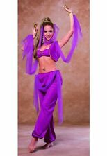 ARABIAN PRINCESS SEXY HAREM JASMINE GENIE BELLY DANCER ADULT COSTUME COSPLAY