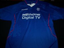 RFC Rangers Soccer Jersey FC Scottish Football Club Ntl Diadora shirt size XL