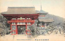 # A2424   KYOTO,  JAPAN    POSTCARD,   TEMPLE  KIYOMIZU