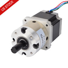 STEPPERONLINE 10:1 High Precision Planetary Gearbox Nema 17 Geared Stepper Motor L=39mm for CNC Milling Lathe Router Engraving Machine