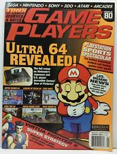 Game Players Magazine Sega Nintendo Playstation 3DO Issue #80 January 1996