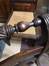 English Regency 1805-1810 Rosewood Chairs MORGAN & SAUNDERS BEAUTIFUL AND RARE!