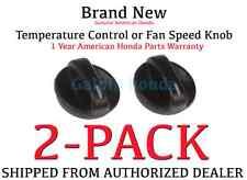 Genuine OEM Honda Accord Temp or Fan Control Knob 1994-1997 79581-SV1-A11 x2
