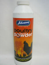 New Johnson's Poultry Mite And Lice Powder Natural Non Toxic 250g