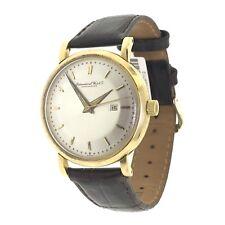 Vintage IWC Shaffhausen 1401769 18k Gold Swiss Automatic 35mm Mens Watch (750)