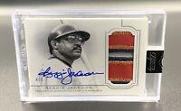 Reggie Jackson 4/5 Auto 2020 Topps Dynasty Patch DAP-RJA2 Autograph Angels MLB